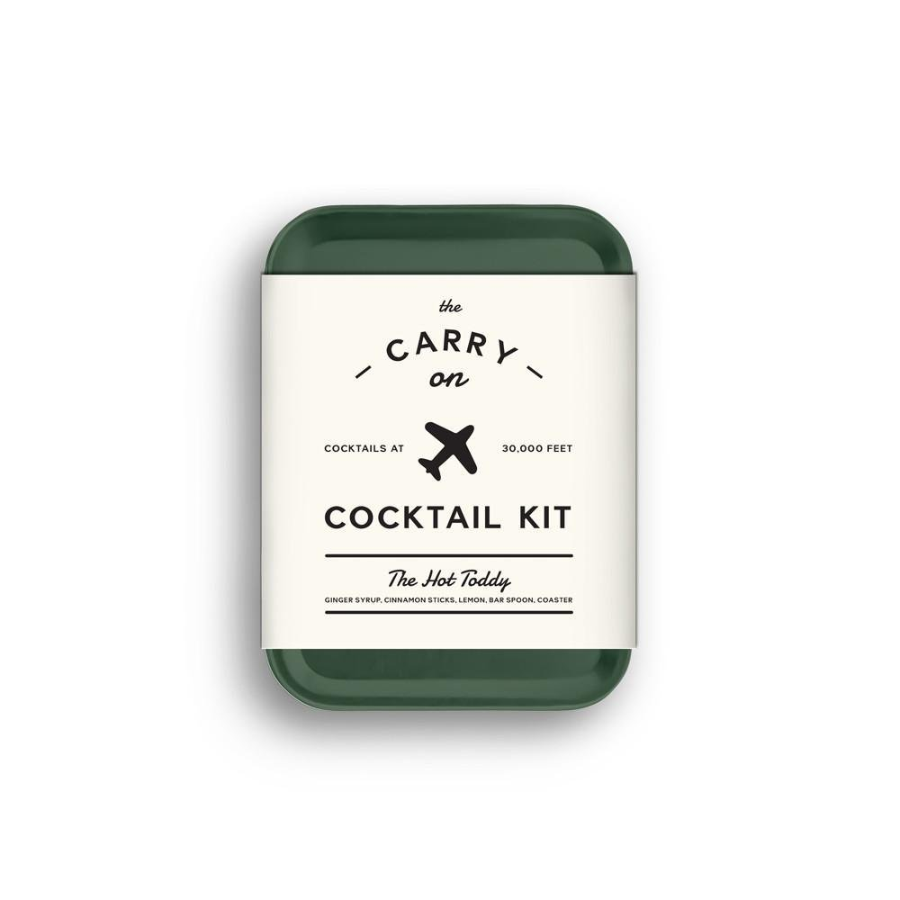 cocktail set plane trip carry on mixer packs hot toddy kit
