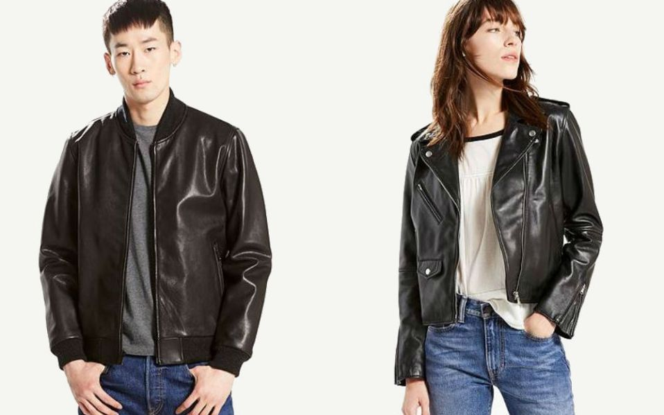 levis leather jackets