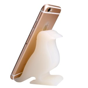 Luminous Silicone Bird Cell Phone Holder by Plinrise