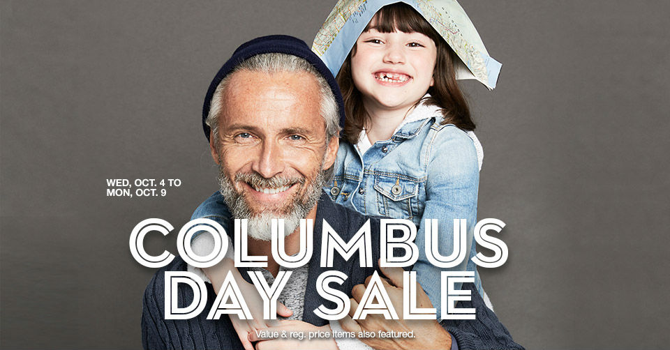 macys columbus day sale