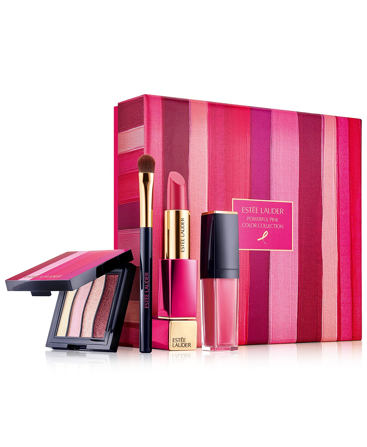 Breast Cancer Awareness Estee Lauder Makeup