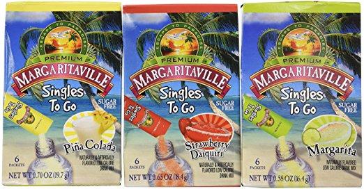 cocktail set plane trip carry on mixer packs margarita kit