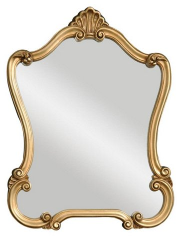 entryway bench best pieces One Kings Lane gold mirror
