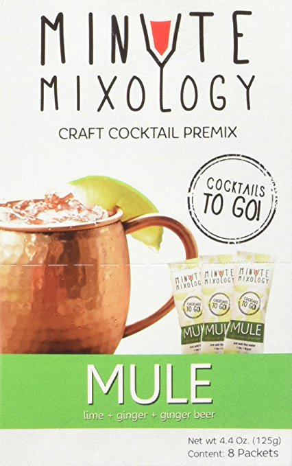 cocktail set plane trip carry on mixer packs moscow mule