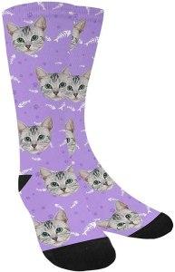 MyPupSocks Custom Personalized Photo Pet Face Socks