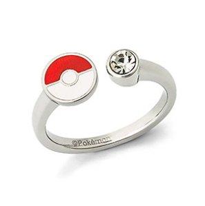 Pokémon Poké Ball & Crystal Ladies' Ring