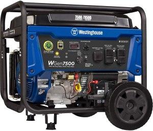 Westinghouse WGen7500 Portable Generator, best portable generator