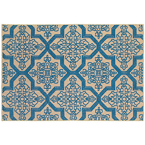 entryway bench best pieces One Kings Lane rug orion sand blue