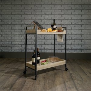 bar cart best cocktail serving carts under $100 wooden 2 tier