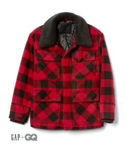 Plaid Coat Gap GQ