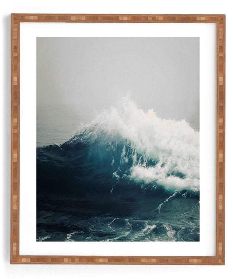 wall decor fresh new ways to decorate your walls sea wave print