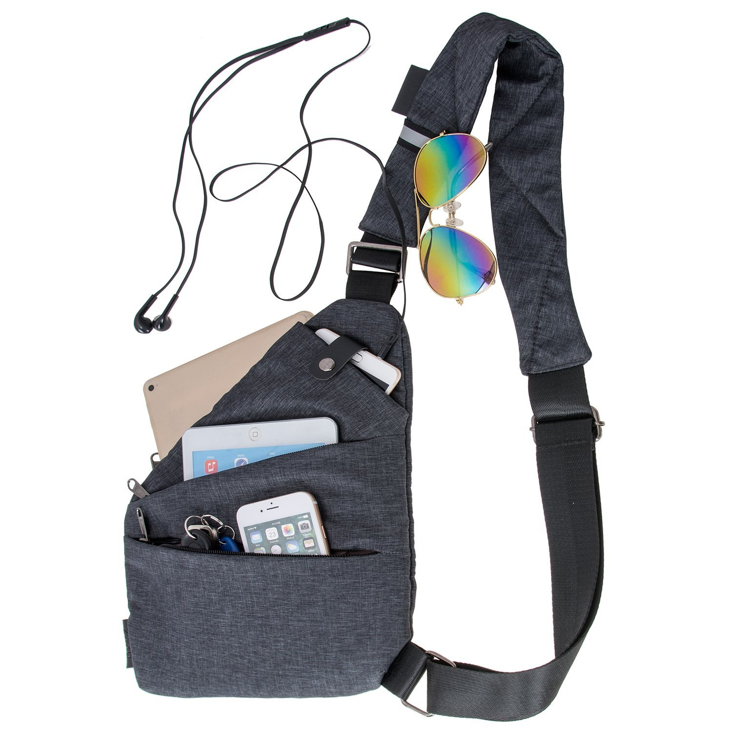 anti theft backpack travel safe bags sling mens womens