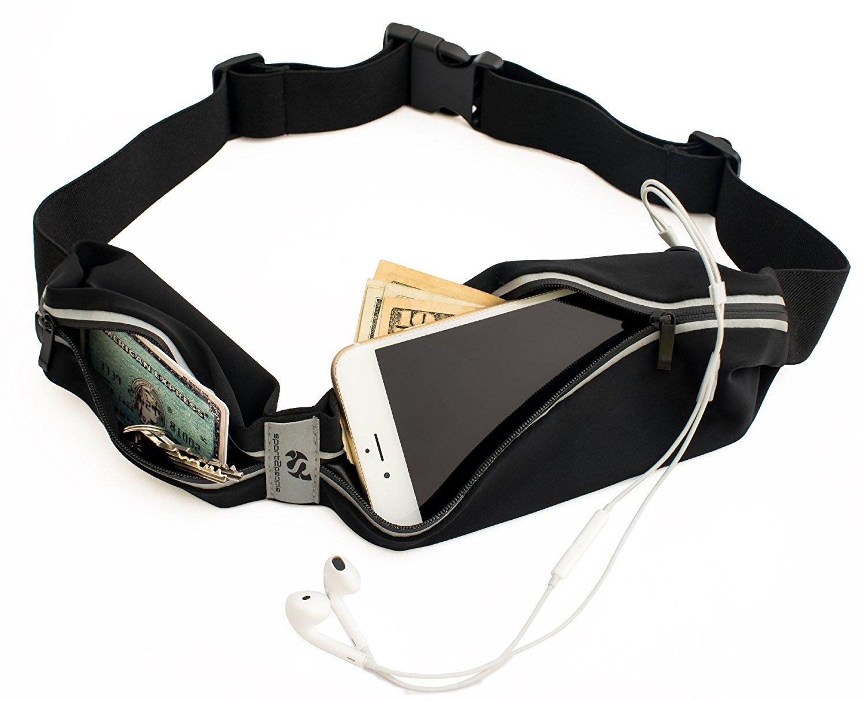 running band 7 best carry essentials on the run phone carrier belt