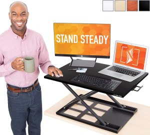 Stand Steady Standing Desk Converter