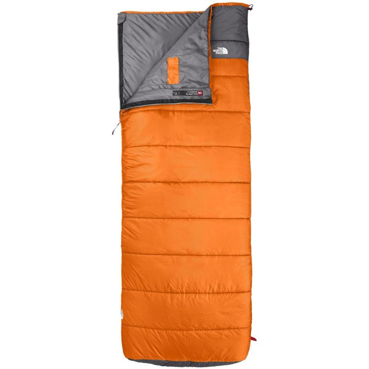 Camping sleeping bag the north face