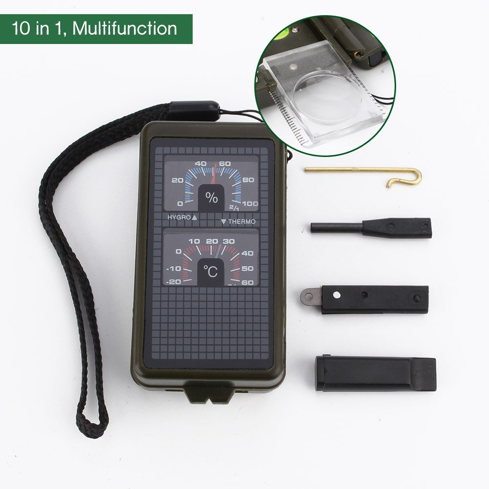 Tsumaby Multi-Functional Compass