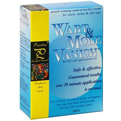 Wart Mole Vanish treatment
