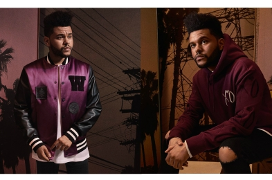 weeknd x hm collection