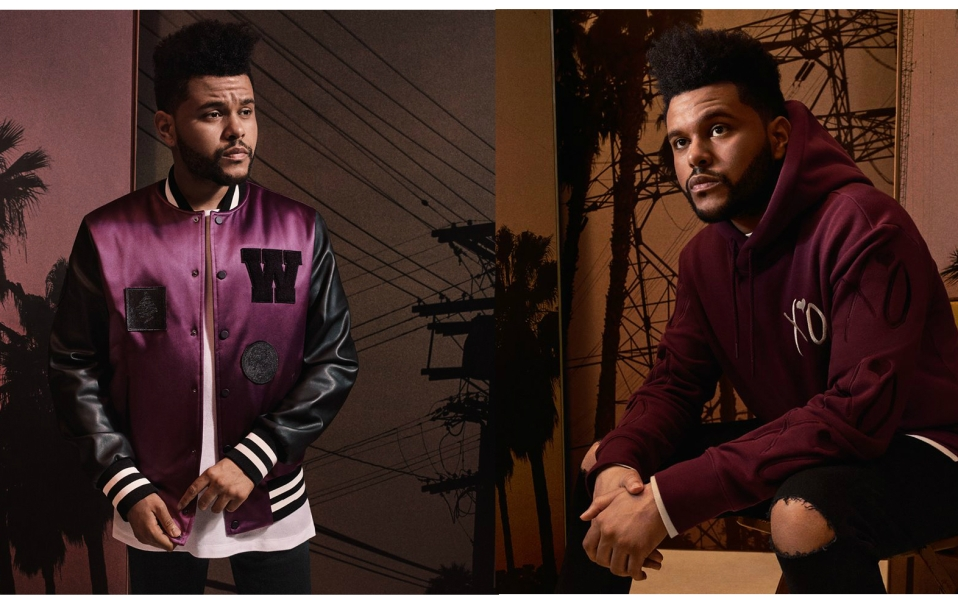the weeknd hm collection