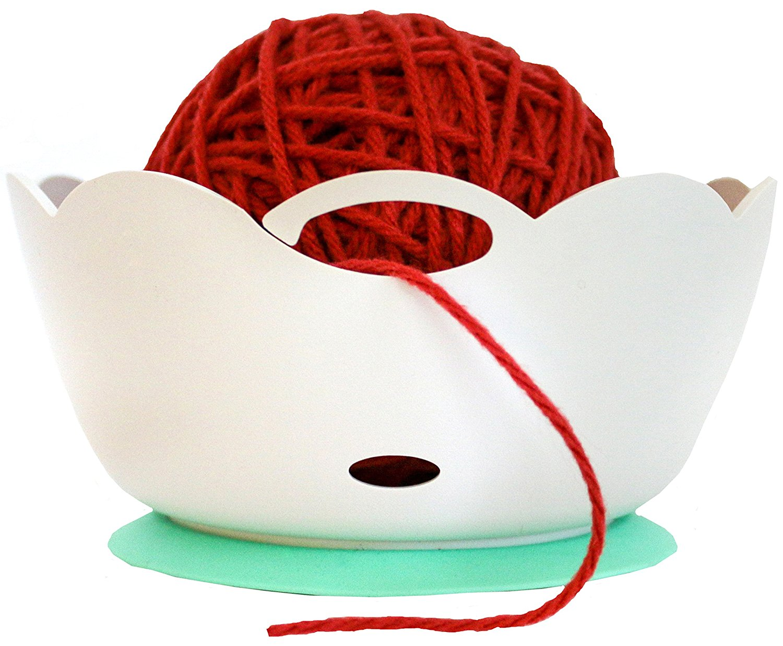 yarn bowl best knitting crochet non-slip unbreakable