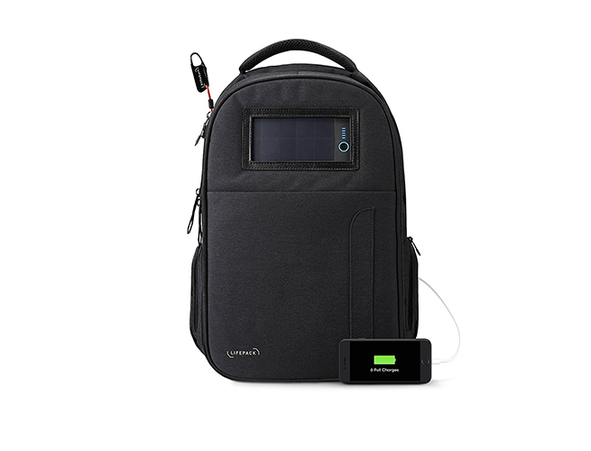 Life stealth solar backpack amazon