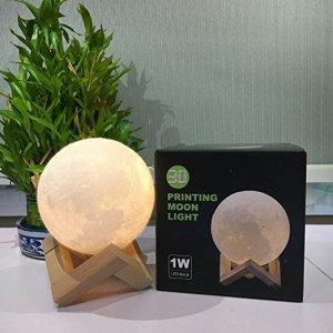3D Printing Moon Lamp by CPLA Lighting