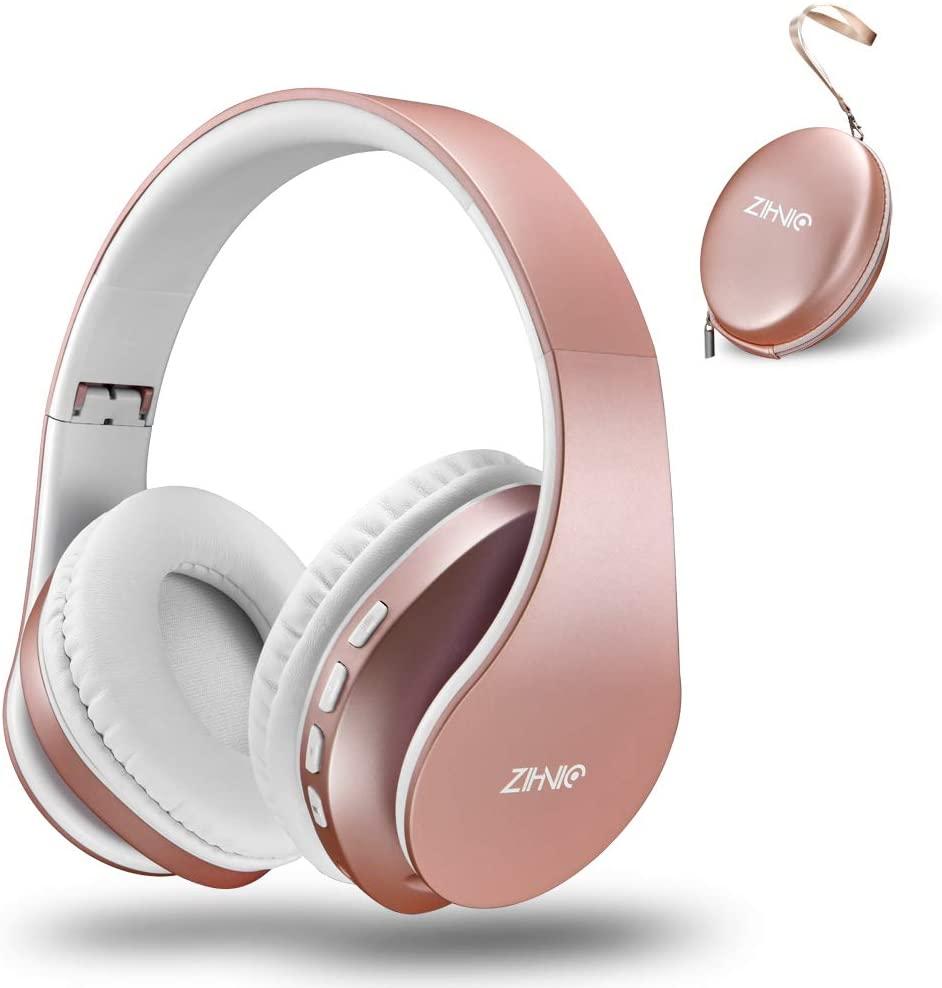 Zihnic Bluetooth Headphones Over-Ear