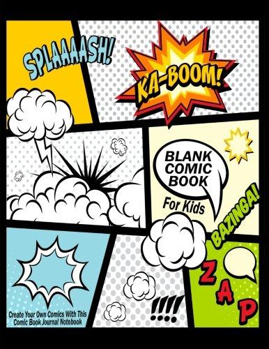 Blank Comic Book for kids amazon