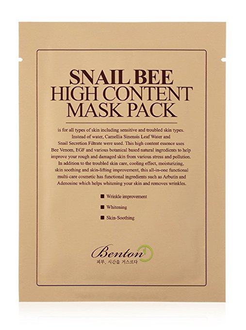 Bee Venom sheet mask amazon