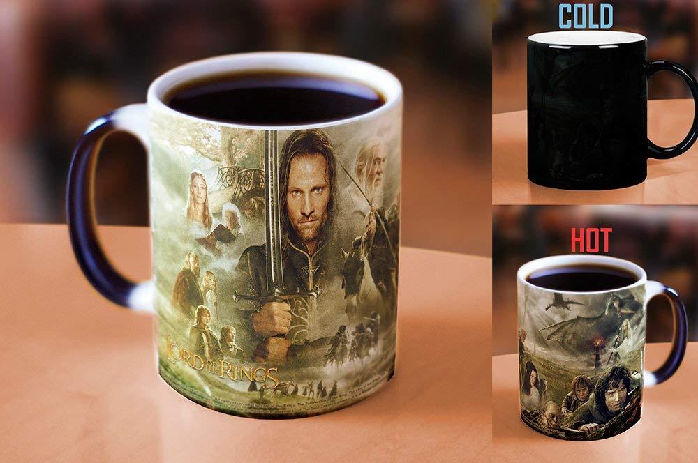 Morphing Mugs Lord of the Rings (Collage) Ceramic Mug