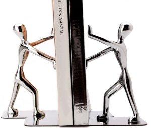 Book End Silver