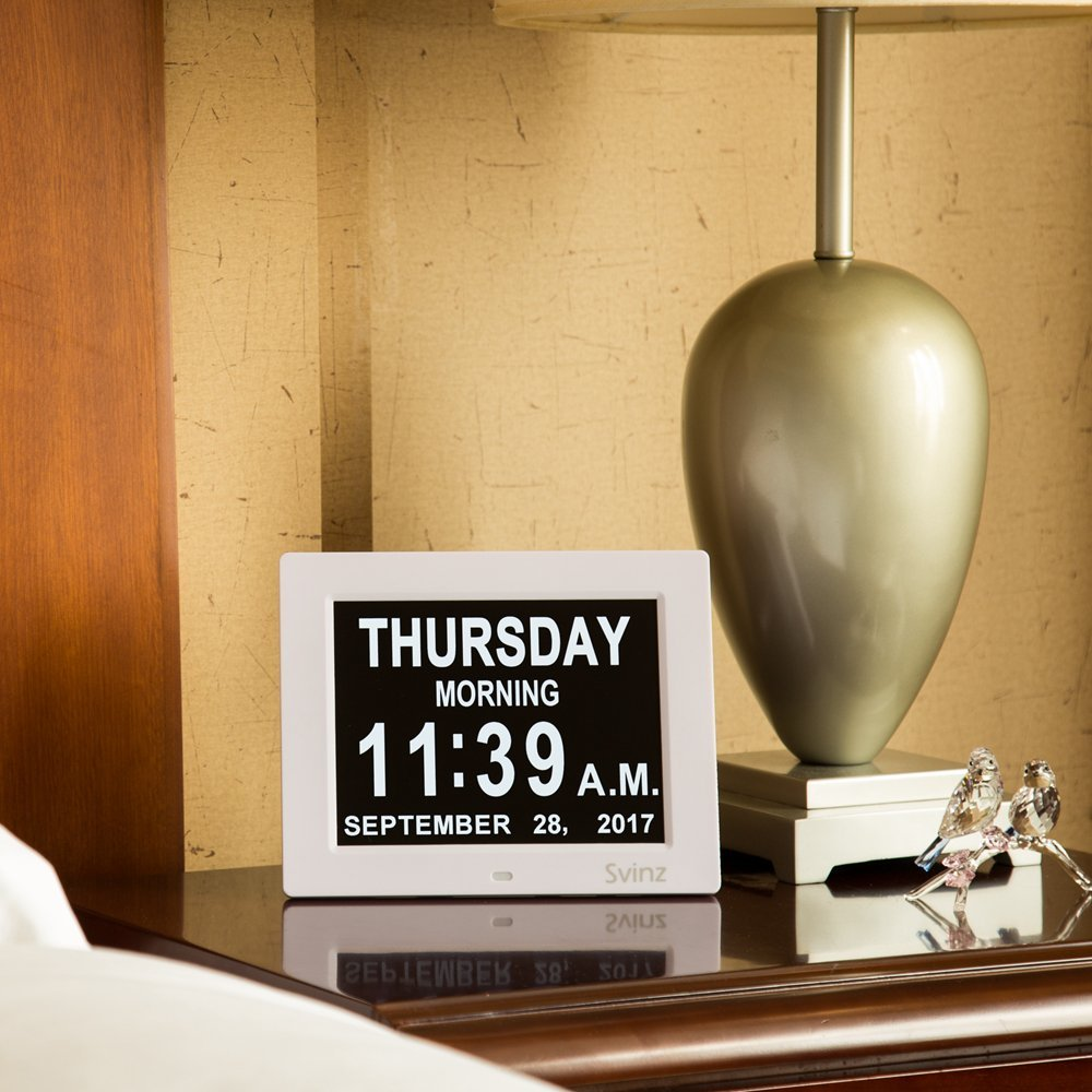 SVINZ 8-inch Digital Clock