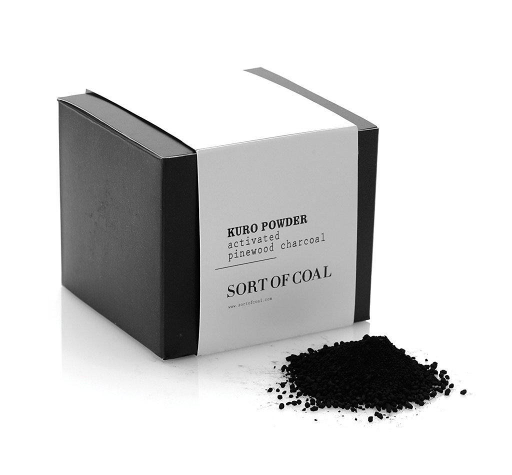 edible charcoal powder
