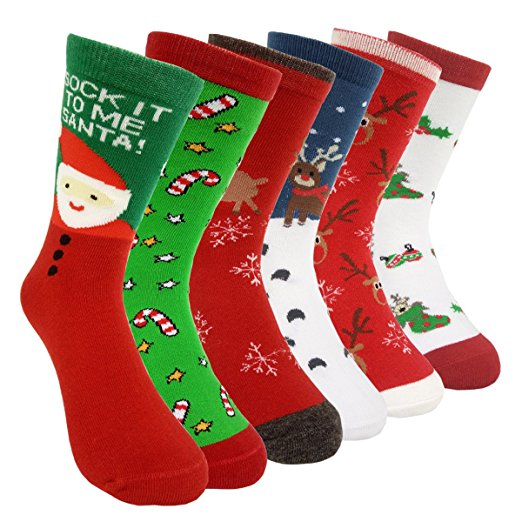 HSELL Christmas Holiday Sock Pack
