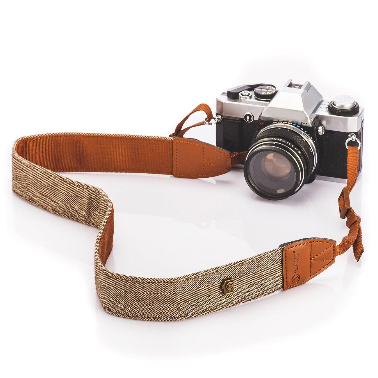 Tarion Vintage Camera Strap