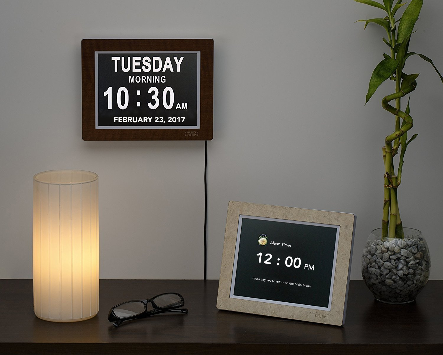 Extra large digital clock amazon