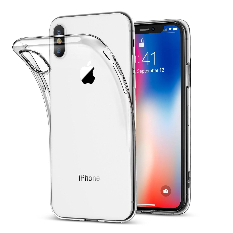 Clear gel iphone x case