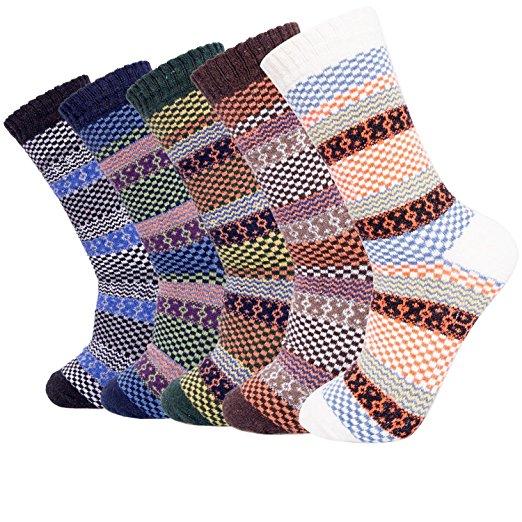 Senker Wool Crew Winter Socks