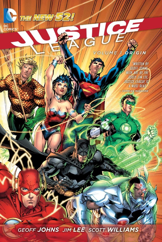 justice league vol 1 origin