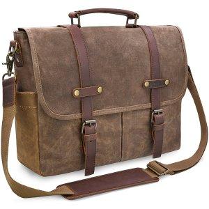 Leather Messenger Bag Men's