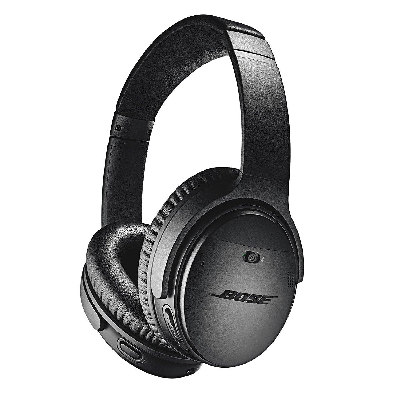 Black Headphones Bose