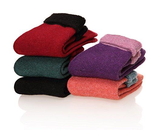 Dosoni Women's Merino Wool Winter Socks