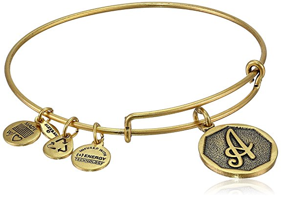 alex ani initial wire bangle bracelet