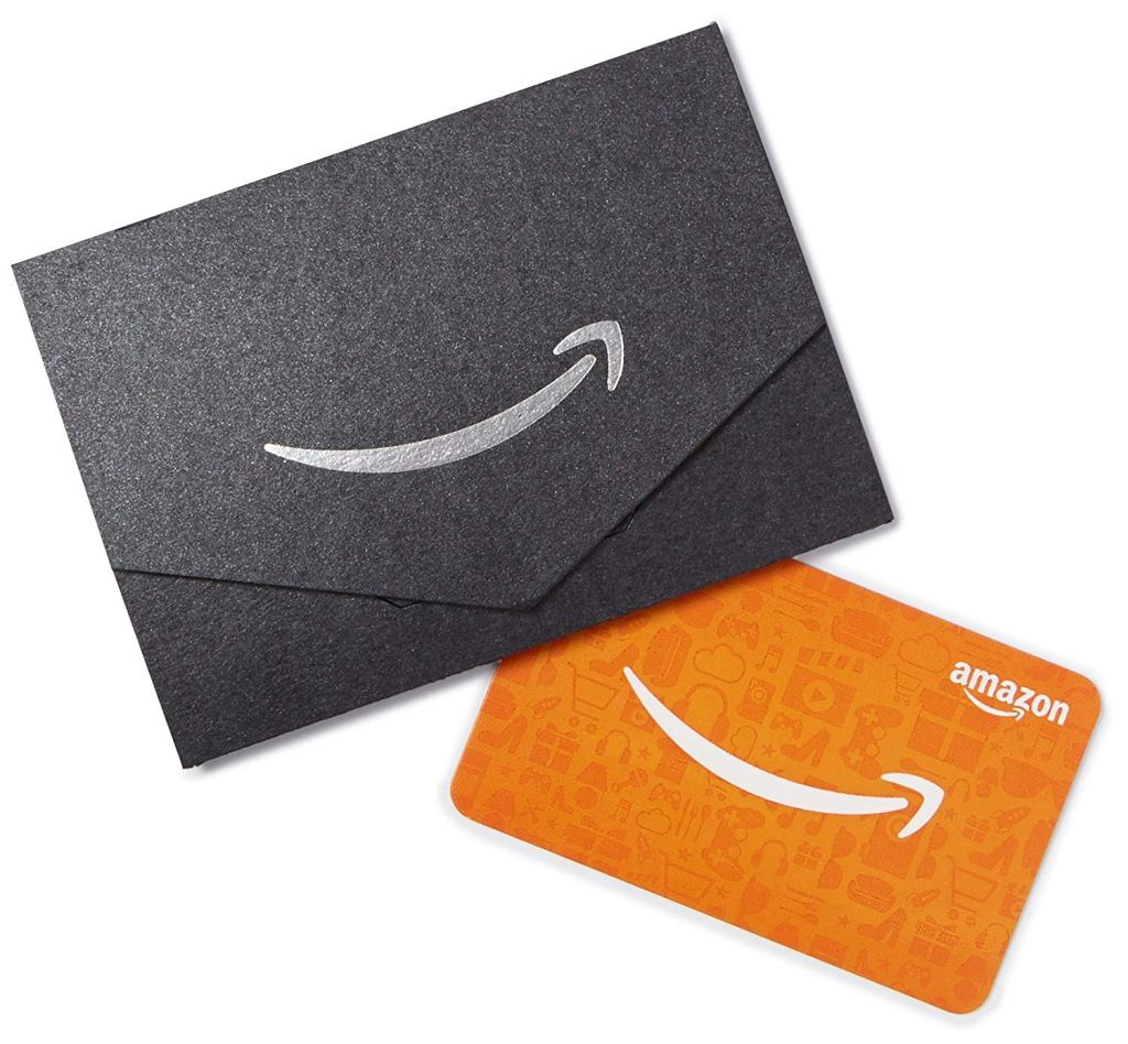 Amazon Gift Card Envelope