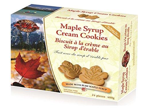 Maple cream cookies Quebec