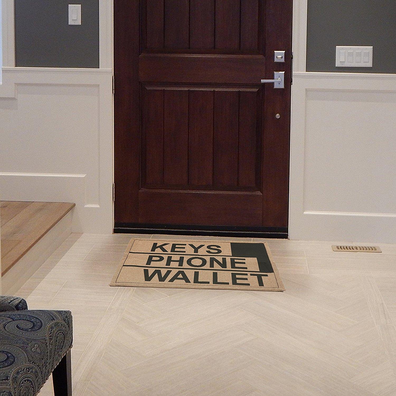 Keys, Phone, Wallet Doormat