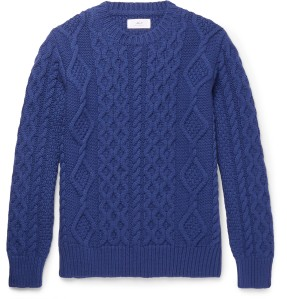 Mr. P Cable Knit Sweater