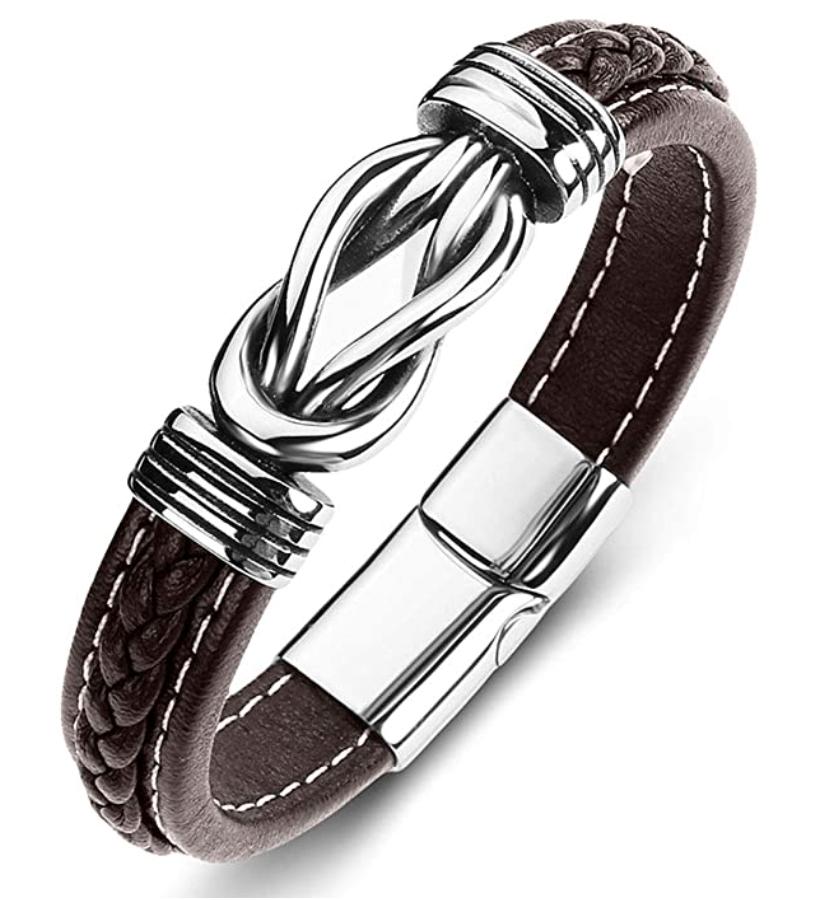 ZiMOJiE Genuine Leather Bracelet