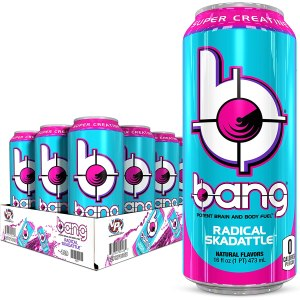 sugar free energy drinks vpx bang radical skadattle