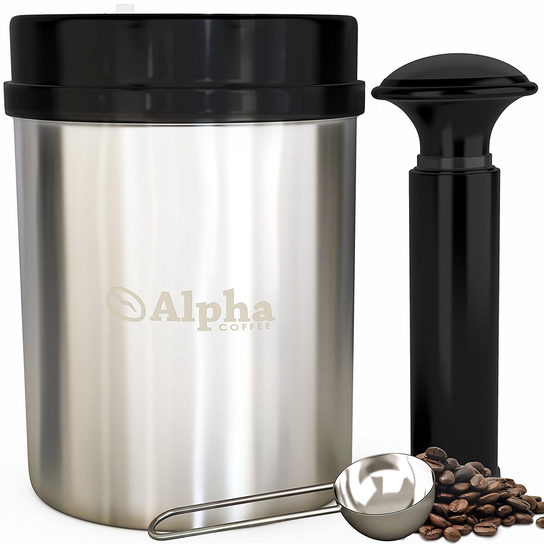 Alpha CoffeeVacuum Seal Coffee Container